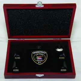 Custom Printed Hip Flask Set
